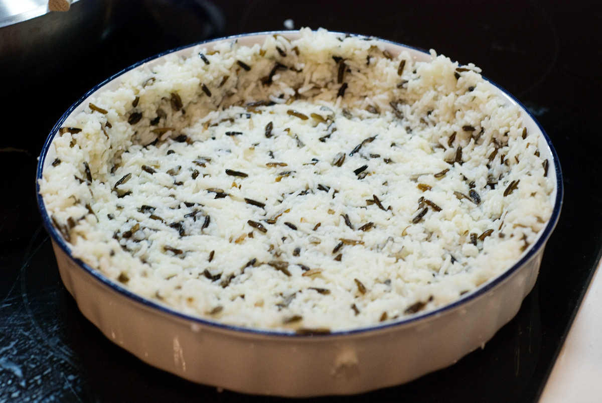 Herbed Zucchini And Feta Quiche With A Brown Rice Crust ...